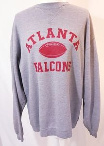 Reebok Atlanta Falcons Heather Gray Sweatshirt XL